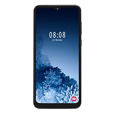 """S30U Unlocked Smartphone,6.7"""" HD Screen 4 Core Cell Phone,Dual SIM Card Slot, Support Expanded Memory Card 128G, 8MP + 13MP Cameras, Mobile Phone for Android 9.1(Black)"""