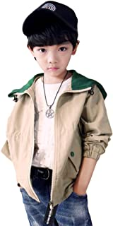 [FERE8890] 男の子 コート 棉 帽子付き ゆったり 図案 字母 プリント カジュアル キッズ ジャケット 可愛い トップス