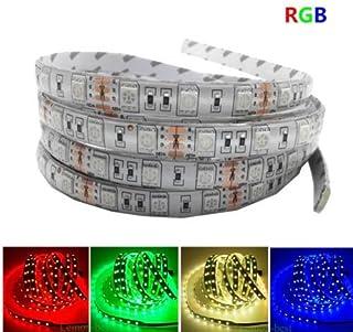 5M LED strip 5050 IP65 Waterproof 60LED/M DC12V Flexible LED Light Strip RGB Warm