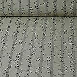 Dekostoff Emilia von Swafing, Noten, beige (Meterware ab