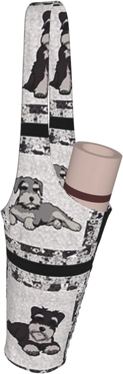 Jeezhub Schnauzer in Different Poses Yoga Super-cheap with Bag Mat Max 74% OFF Large Poc