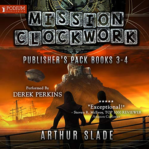 Mission Clockwork: Publisher's Pack 2 cover art