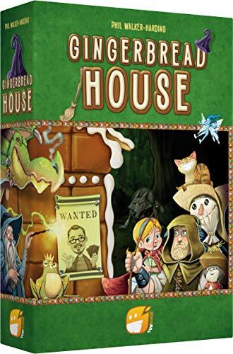 Asmodee- Gingerbread House société-Jeu de tuiles,...