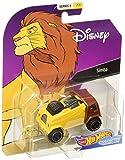 Hot Wheels 2019 Character Cars Simba 1/64 Diecast Model...