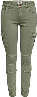 Amazon Es Verde Pantalones Mujer Ropa