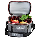 Fresho Insulated Lunch Kit Tote Slim Box...