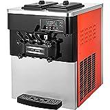 SucceBuy Machine à Crème Glacée Enfant de Table Professionnel Sorbetière à Glace Ice Cream Machine (mandarine)