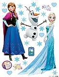 Wand Sticker Frozen DK1797, Polymerfilm, 65 x 0,02 x 85 cm,