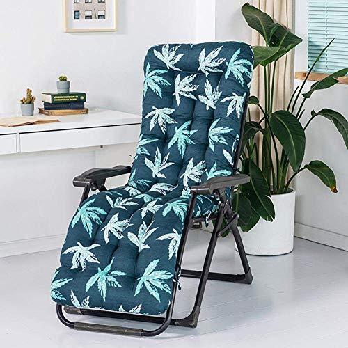 ZWWZ Garden Recliner Relaxer Chair Cushion Replacement Cushion For Garden Sun Lounger Recliner Patio Garden Furniture Replacement Cushion(Cushion Only)