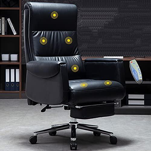 Sillas de Oficina, escritorios y sillas para computadora, sillones ergonómicos, sillones reclinables domésticos, se Pueden Levantar y Girar/como se Muestra / 112 / 118cm