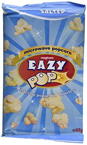 Eazypop Microwave Popcorn Salted Flavour, 16 X 85g