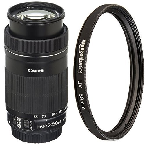 Canon EF-S 55-250mm F4-5.6 IS STM Lens...