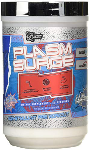 Glaxon Plasm Surge 42 Servings Unflavoured, 310 g