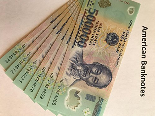 3 Million Vietnam Dong - 500000 Vietnamese Dong Currency Collector VND Banknotes