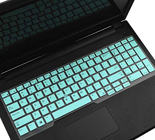 HülleBuy Tastaturabdeckung, kompatibel mit Dell Latitude 5580 5590 5591 E5550 E5570, Precision M5520 15,6 Zoll / Dell Precision M7510 M7520 M7710 M7720 43,9 cm (17,3 Zoll), Dell Latitude 15 Hülle mint
