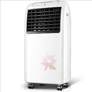 Móvil Climatizador Evaporativo Portátil Enfriador evaporativo del aire, móvil más pequeño de aire acondicionado, ventilador de refrigeración de agua Momento de silencio cálido tipo de frío 3 Velocidad