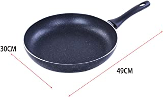 FAMILY Sarten Aluminio,Fabricada en Aluminio Fundido,Apta para Todo Tipo de cocinas, Resistente a la deformación… (30 * 5.8CM)