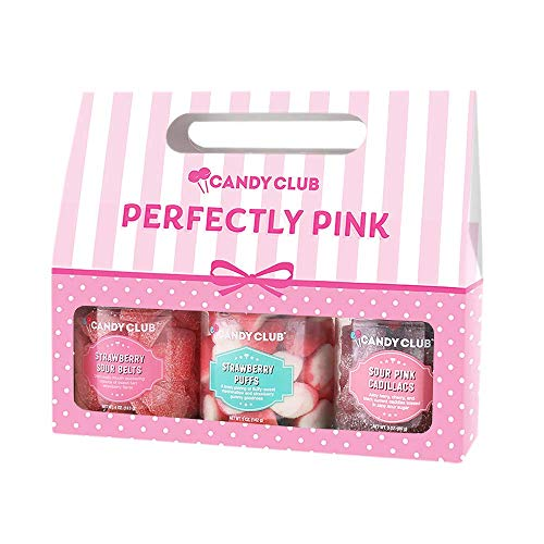 Candy Club, Perfectly Pink Collection, Candies and Gummies Gift Pack -...