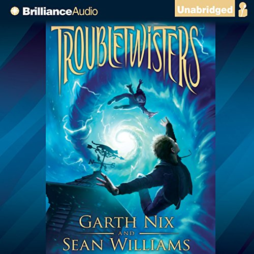 Troubletwisters audiobook cover art