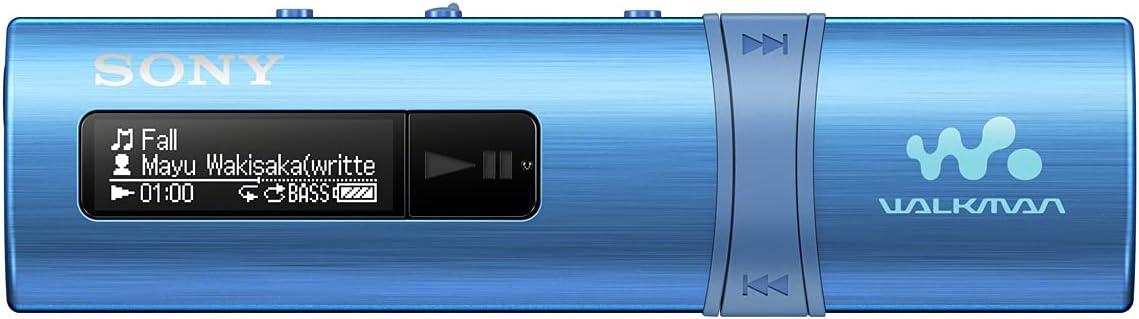 Sony NWZ-B183L Walkman (4 GB Speicher, USB), blau