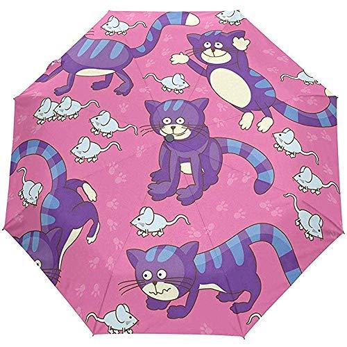 Merle House Automatische Regenschirme Ananas Clipart Golf Travel Sonne Regen Winddicht Auto Öffnen Schließen Regenschirm mit UV-Schutz