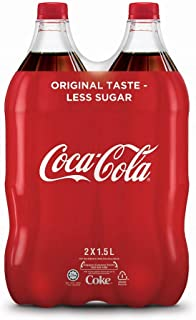 Coca-Cola Original Twin Pack, 1.5L (Pack of 2)