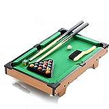 GUO Hogar estadounidense madera pequeña negro 8 mesa de billar estándar de juguetes para...