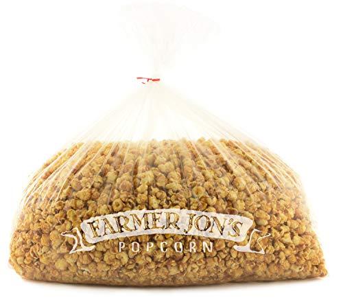 Why Should You Buy Farmer Jon's Popcorn Honey Caramel Bash Bag, 400oz of Bulk Gourmet Popped Popcorn