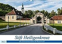 """Stift Heiligenkreuz (Wandkalender 2022 DIN A2 quer): Ein """"Ort der Kraft"""" im Wienerwald (Papst Benedikt XVI.) (Monatskalender, 14 Seiten )"""