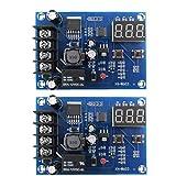 Carga de la batería tablero del módulo, XH-M603 12-24 Interruptor de Control de Voltaje de carga protectora de ajuste Herramientas de 2 piezas industriales