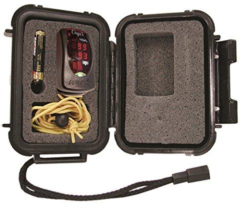 Nonin 9550j 9550Onyx II Finger Pulsoximeter mit Gerechtigkeit Hard Case