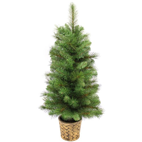 WeRChristmas Victorian Pine Christmas Tree, Green, 3 ft/ 0.9 m