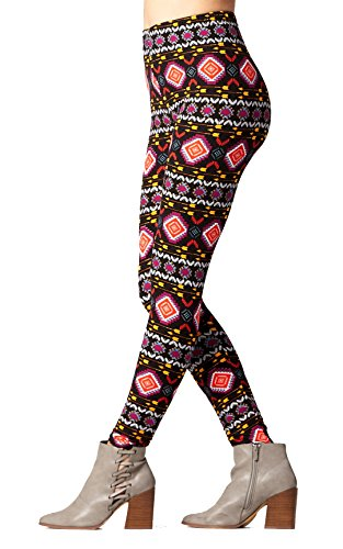 Buttery-Soft Printed Leggings for Women 100+ Prints and Solids in Regular and Plus Size - On Target - One Size (0-12)