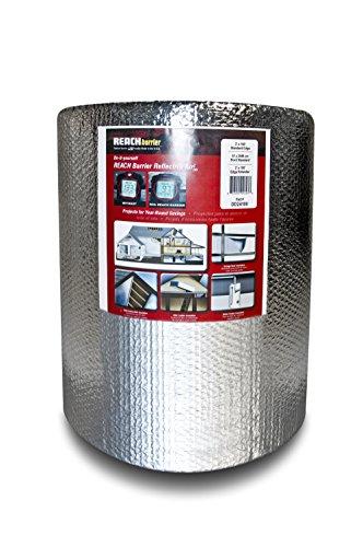 Reach Barrier DD24100 Air Double Reflective Polyethylene Insulation Roll, 2-Feet by 100-Feet