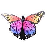 MRULIC Damen Weiche Gewebe Schmetterlingsfl/ügel Schal Nympho Pixie Fasching Cosplay Weihnachten Cosplay Kost/üm Zusatz