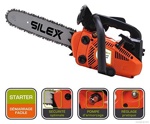 Silex France® - Motosega potatrice termica, 25,4...
