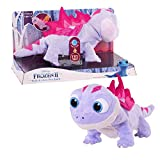 Disney Frozen 2 Walk & Glow Bruni The Salamander, Lights and Sounds Stuffed Animal by Just Play