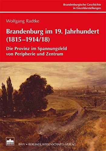 Brandenburg im 19. Jahrhundert (1815-1914/18): Die Provinz im Spannungsfeld von Peripherie und Zentrum (Bibliothek der Brandenburgischen und ... ... Brandenburgischen und Preußischen Geschichte)
