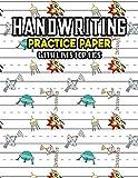 Handwriting Practice Paper With Lines For Kids: Kindergarten Fantasy Universe Handwriting Practice Paper With Dotted Lined Sheets for Kids, Kindergarteners, Preschoolers, And toddlers