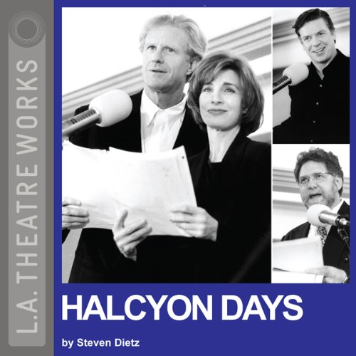 Halcyon Days audiobook cover art