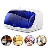Esterilizador UV, TOPQSC Desinfector de cajón de una sola capa portátil móvil salón de belleza spa tatuaje uñas