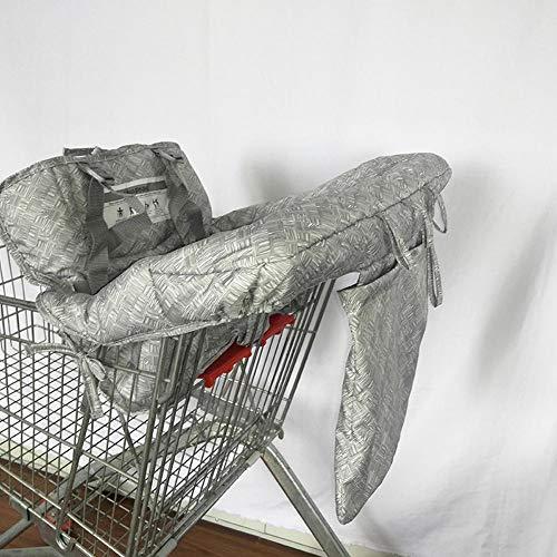 Fancylande Shopping Cart Cover Cojín Carrito de la Compra para niño de poliéster con Lunares de Viaje portátil Carpet Silla de la Silla de los niños recién Nacidos Fashionable Trusted