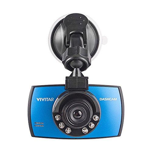 Vivitar DCM106-BLU - Cámara para Coche (90°, Sensor G, Micro SD) Color Azul