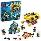 LEGO CityOceans Océano ExploraciónSet Aguas Profundas,Juguetes de Aventuras Submar...