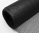 Schellenberg 57109 - Malla mosquitera de fibra de vidrio (100 x 250cm), color negro