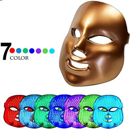 BLH-MZ Máscara de LED Máscara Facial para la Piel Instrumento de Belleza Hogar Espectro de la máquina Fotón Introducción Dispositivo Fototerapia Rejuvenecimiento de la Piel Equipo