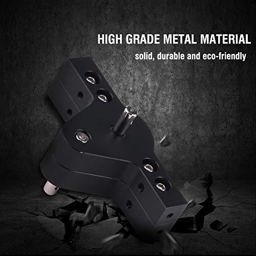 Dilwe RC Verteilergetriebe, Metall Verteilergetriebe für 1/10 D90 D110 Axial SCX10 RC Crawlers Auto