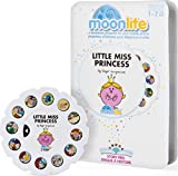 As kids follow along to their favorite stories, they develop their imagination, creativity and language skills Moonlite's Mr. Strong is for babies, toddlers, kids and adults who love stories! No batteries required No batteries required