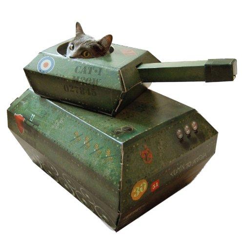 『サック・ユー・ケー (suck UK) サック・ユー・ケー キャットプレイハウス 戦車』の1枚目の画像