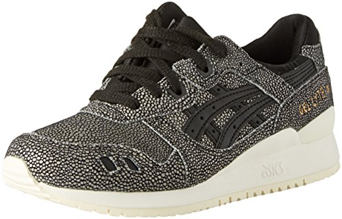 Asics - Gel Lyte III - Sneakers Damen, Schwarz (Black / Black), 37 EU